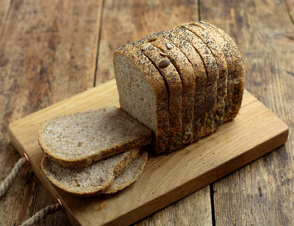 Mixed Seed Loaf, Sliced, Organic, Authentic Bread Co. (400g)