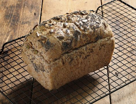 New Mixed Seed Loaf Authentic Bread Co 400g