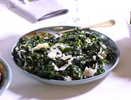 Spring Greens with Caesar Dressing