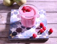 Raspberry, Apple & Pear Crush Smoothie