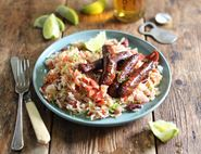 Mexican Rice & Beans with Chorizo
