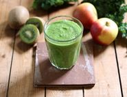 Kiwi, Kale & Apple Smoothie