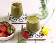 Spinach, Strawberry & Goji Berry Smoothie
