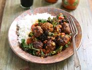 Lamb Kofta Curry & Rice