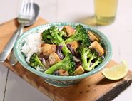 Thai Red Broccoli, Tofu & Coconut Curry