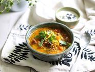 Spiced Tomato & Red Lentil Soup