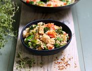 Coconut Fried Rice with Tenderstem® Broccoli