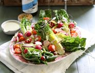 Mini Romaine & Perl Las Wedge Salad