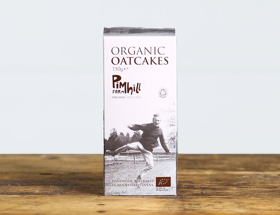 Oatcakes, Organic, Pimhill (150g)
