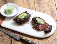 Picanha Steaks with Stilton Butter