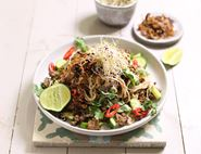 Thai Spiced Crispy Beef Noodles