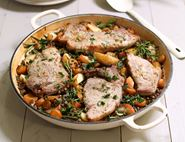 Pork, Lentil & Apple Tin Roast