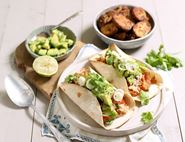 Crab, Avocado & Tomato Tacos