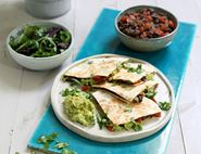 Black Bean & Avocado Quesadillas