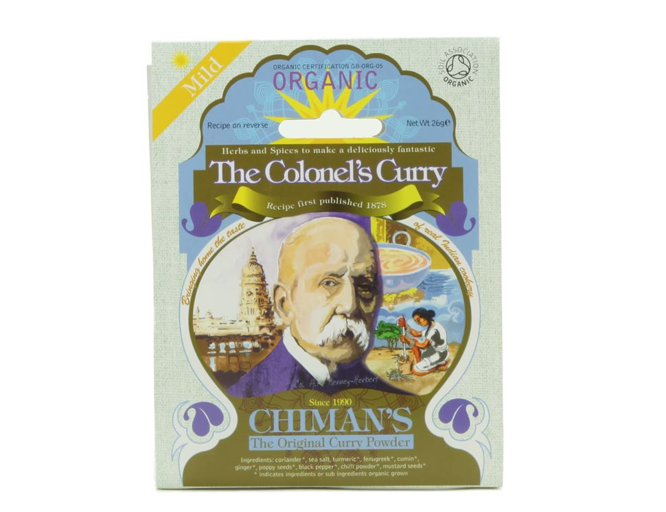 The Colonel's Curry Spice, Mild, Chiman's (26g)