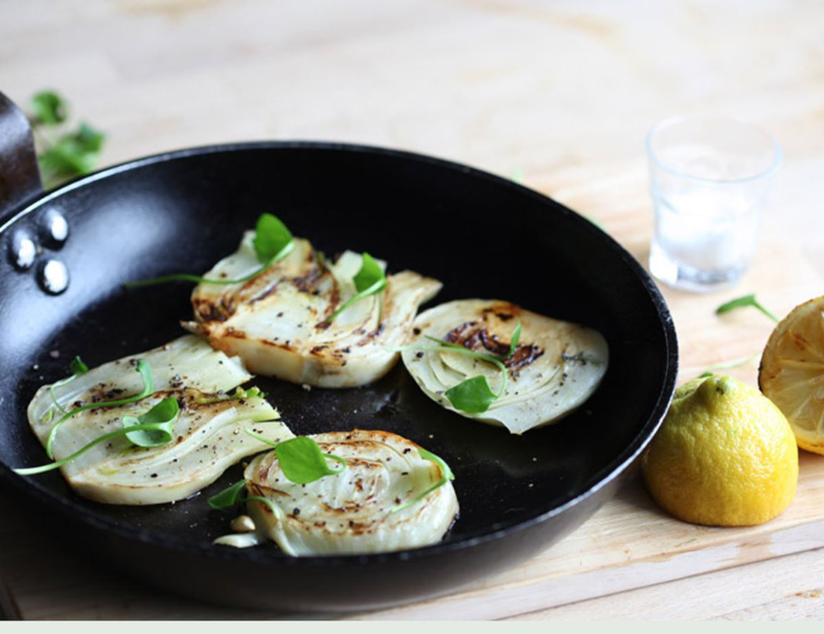 Sizzled Fennel Steaks