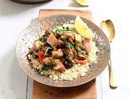 Chicken & Rhubarb Tagine