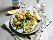 Plaice with Lemon & Parsley Butter