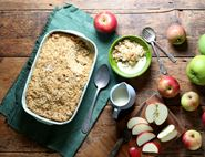 Autumnal Apple Crumble