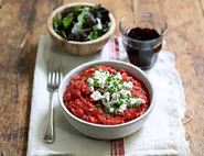 Beetroot & Goat's Cheese Risotto
