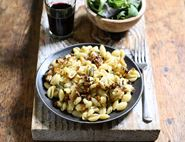 Cheesy Roast Cauliflower Pasta