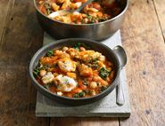 Spanish Fish & Butter Bean Stew