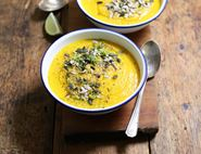 Cream of Carrot & Coconut Soup