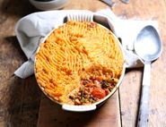 Moroccan Spiced Shepherdess Pie