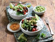 Avocado & Black Bean Burrito Bowl