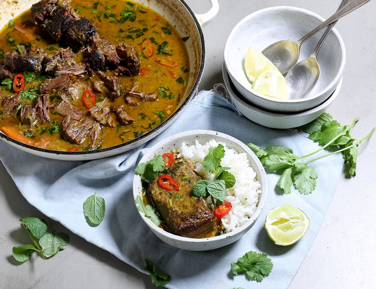 Braised Beef Short Rib Curry