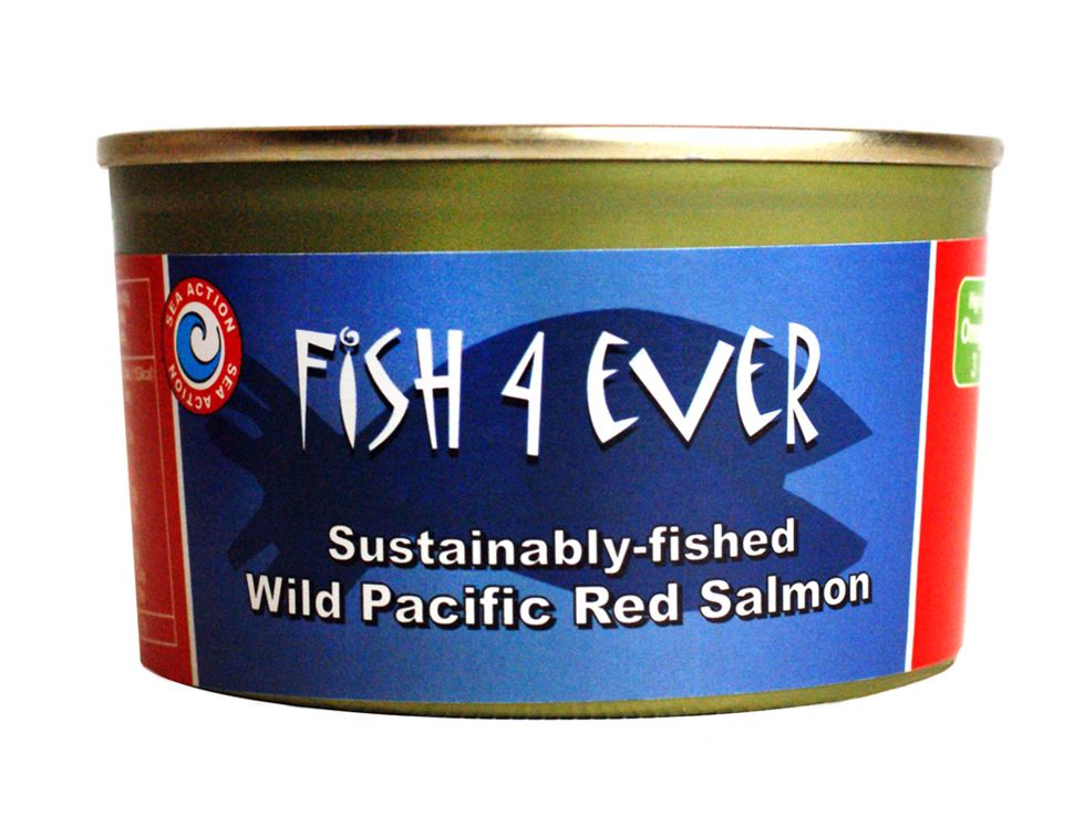 Wild Pacific Red Salmon, Fish 4 Ever (213g)