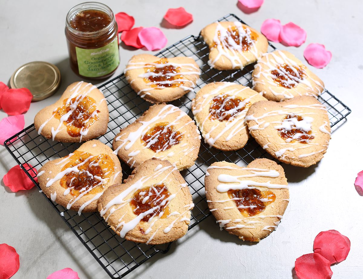 Jammy Sweetheart Biscuits
