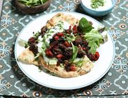 Indian Spiced Lamb Flat Breads