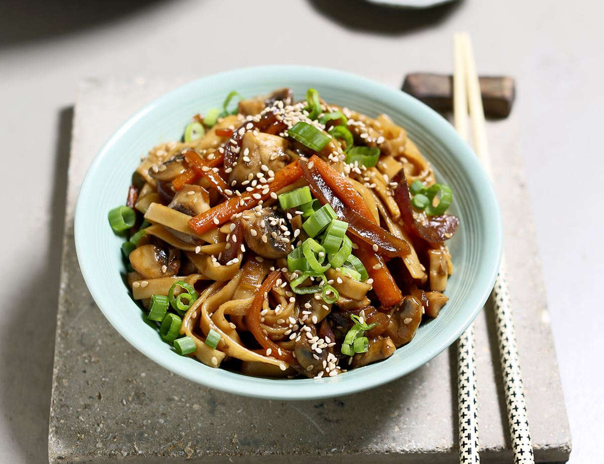 Japanese Yaki Udon Noodles Recipe Abel Cole