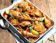 Roast Chicken with Smoky Paprika Potatoes