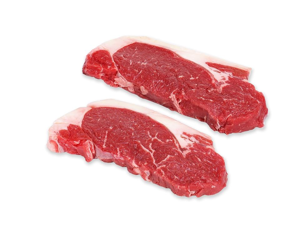 Organic Sirloin Minute Steaks (400g, pack of 4)