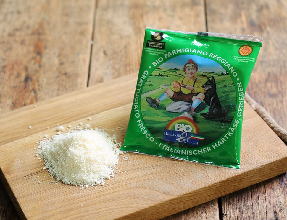 Grated Parmesan (50g)