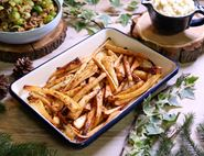 Paul's Sticky Honey & Mustard Parsnips