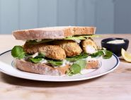 Chunky Fish Finger Sandwiches with Tartare Sauce