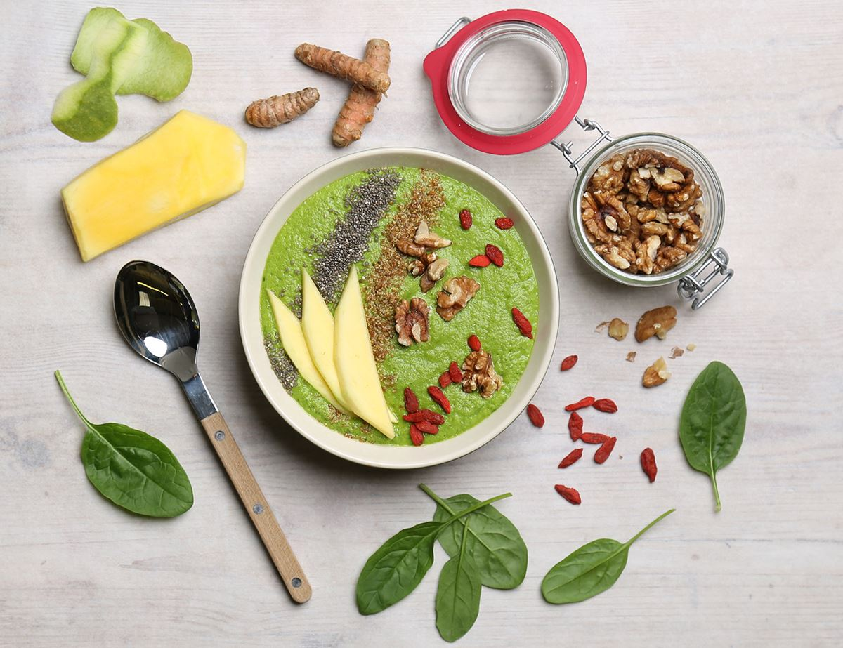 Green Smoothie Breakfast Bowl