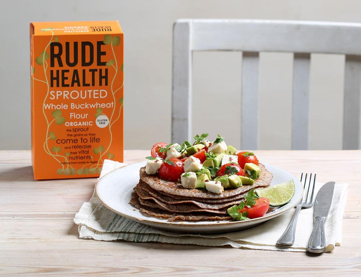 Savoury Buckwheat Pancakes Recipe Abel Cole