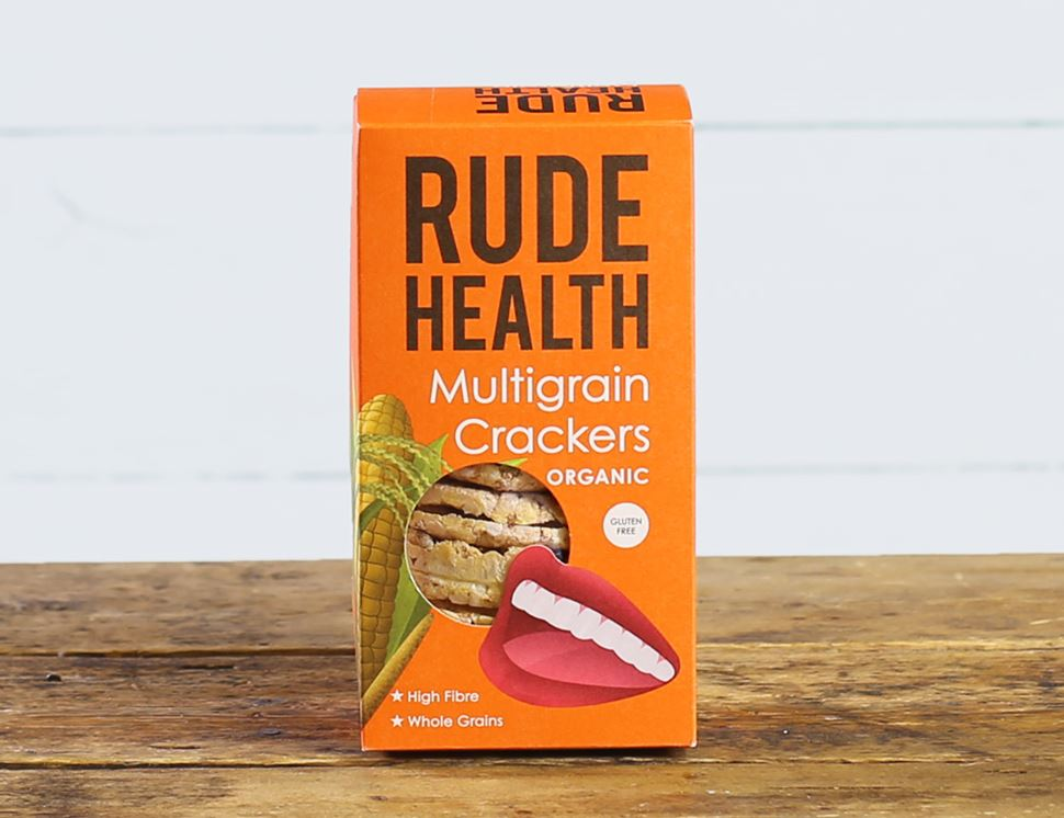 Multigrain Thins, Organic, Rude Health (160g)