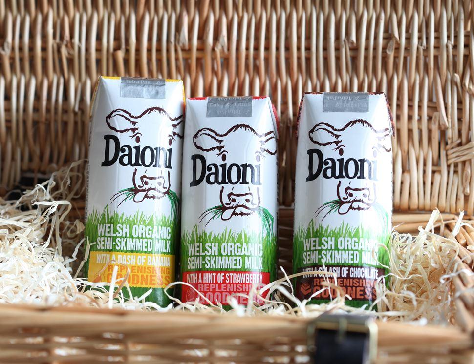 Chocolate Flavoured Milk Drink Organic Daioni 3 X 200ml