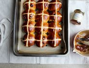 MarmalAID Glazed Hot Cross Buns