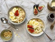 Slow Cooker Fig & Almond Porridge