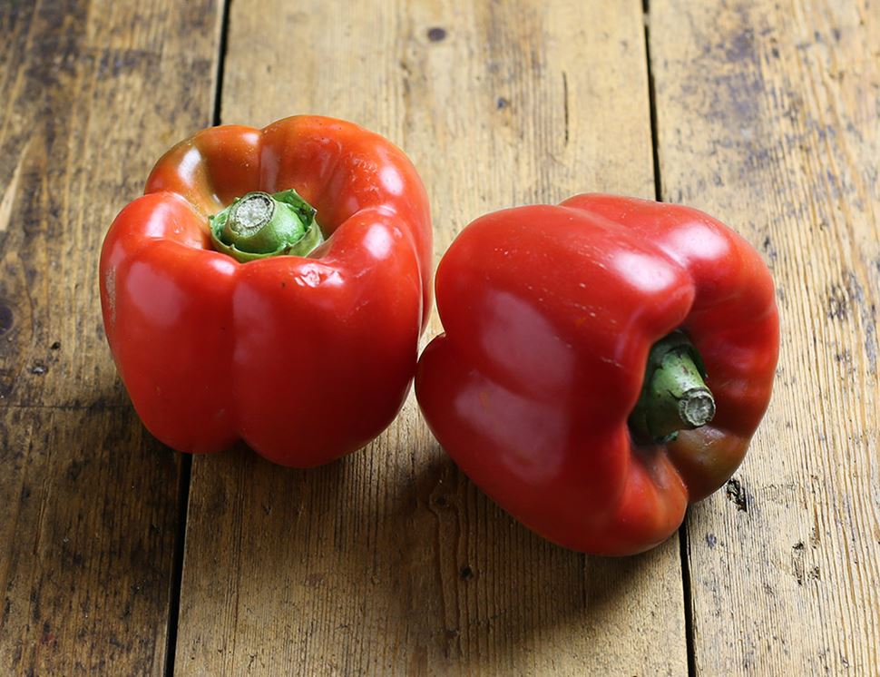 Red Peppers, Organic (2 pieces)