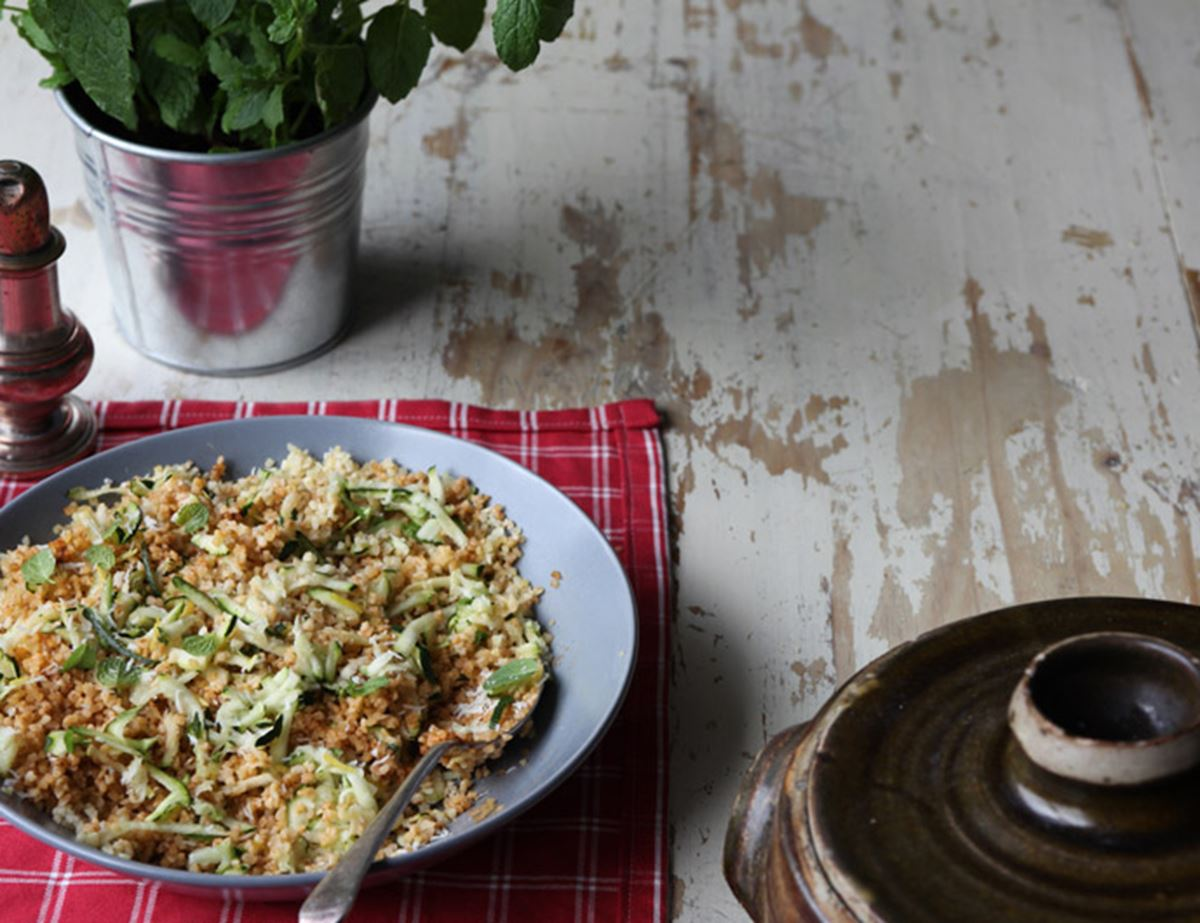 Curried Coconut Courgette Couscous