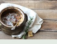 Parsnip Gratin with Rosemary and Chilli