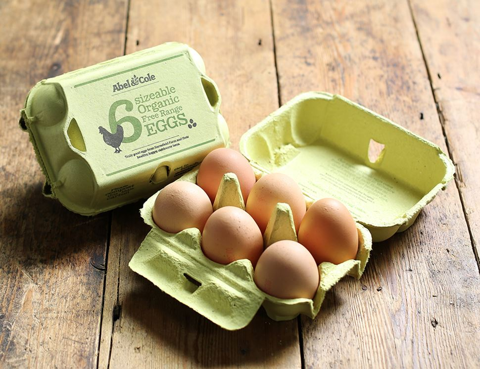 Eggs, Organic Free Range (6 sizeable)