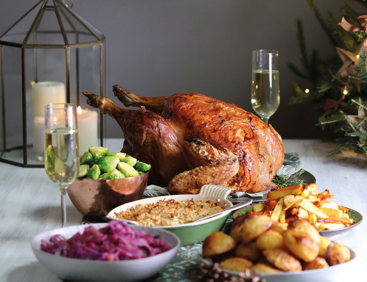 How To Cook The Perfect Christmas Turkey Recipe Abel Cole